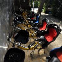 Biciclette con seggiolini per bambini gratis