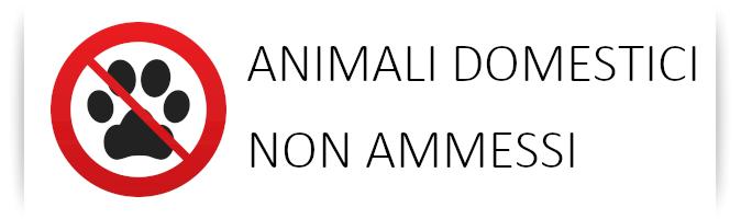 ANIMALI NON AMMESSI - RIVA DEI PINI - MARCHE