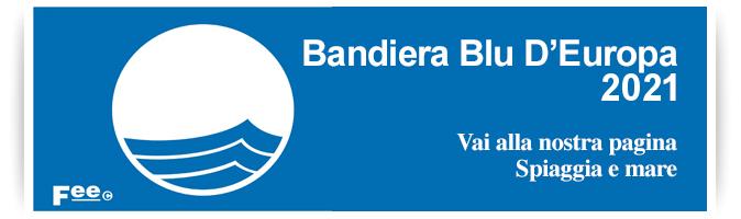 Riva dei Pini Marche bandiera blu 2021